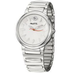 Fruitz Women's 'Sorbet' Stainless Steel White Dial Quartz Watch