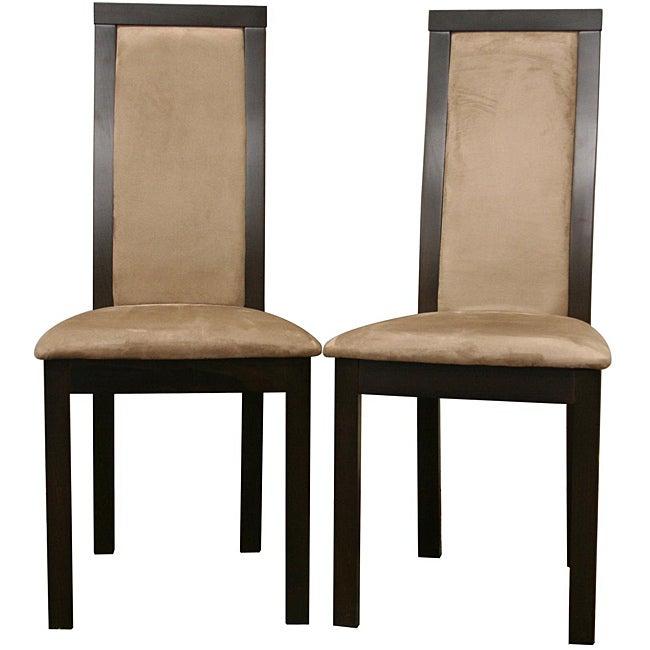 Pollard Dark Brown Dining Chairs (Set of 2)