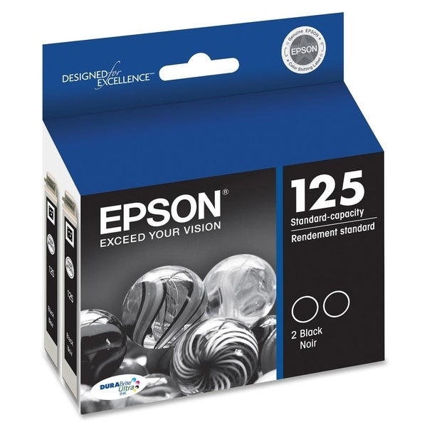 Epson DURABrite 125 Dual Pack Ink Cartridge