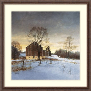 Ray Hendershot 'Breaking Light' Framed Art Print