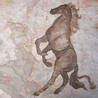 'The Horse' Art for the Horse Lover - Horse Stone Carving for the Equestrian - Custom Tile
