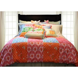 Clarissa 12-piece Queen-size Bed in a Bag with Sheet Set