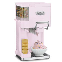 Cuisinart ICE-45PK Pink Mix It In Soft Serve Ice Cream Maker