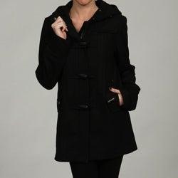 Buffalo Women's Wool-blend Hooded Coat