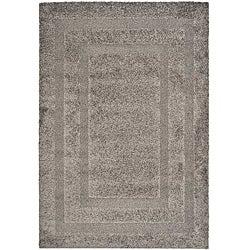 Safavieh Hand-woven Ultimate Dark Grey Shag Rug (5'3 x 7'6)