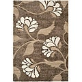 Safavieh Ultimate Smoke/ Beige Shag Rug (8' x 10')