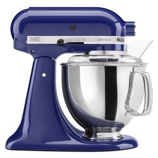 KitchenAid RRK150BU Cobalt Blue 5-quart Artisan Stand Mixer (Refurbished)
