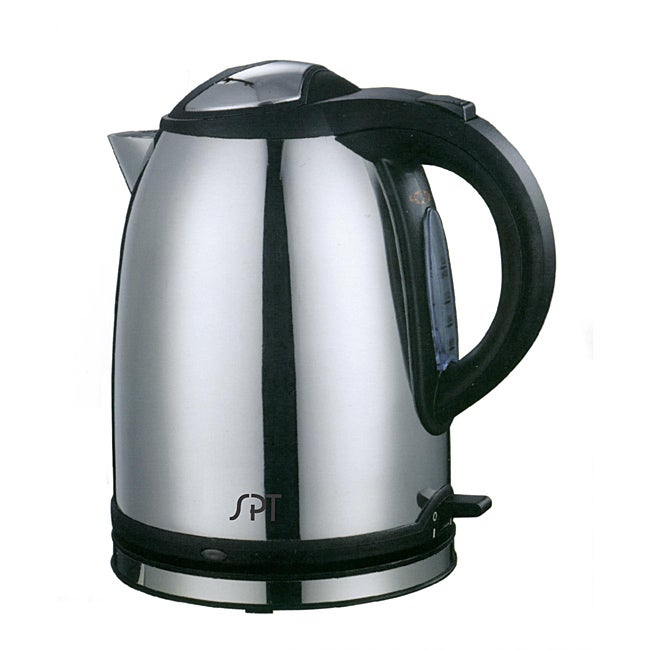 Sunpentown 1.2-liter Stainless Steel Cordless Electric Kettle