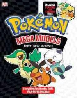 Pokemon Mega Models: Snivy - Tepig - Oshawott (Paperback)