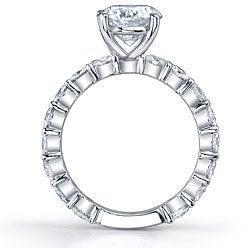 14k White Gold 1 5/8ct TDW Diamond Engagement Ring (G-H, SI1-SI2)