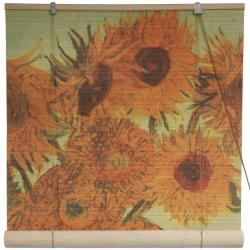 Bamboo 'Sunflowers' Window Blinds (60 in. x 72 in.) (China)