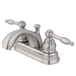 Knight Satin Nickel Centerset Bathroom Faucet