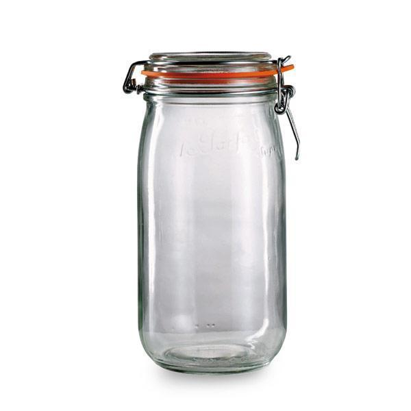 Le Parfait 3-liter Glass Jars (Pack of 6)