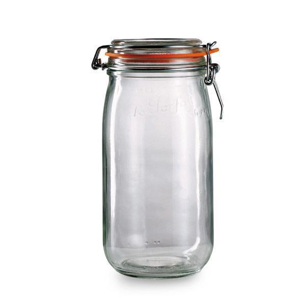 Le Parfait 3-liter Glass Jars (Pack of 3)