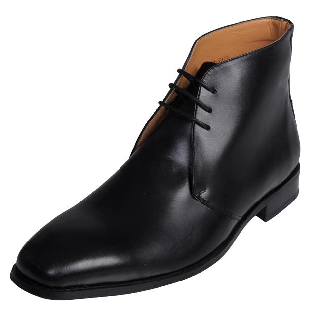 Boston Traveler Men's Leather Ankle Boots