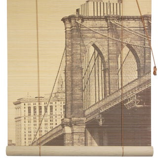 Bamboo Brooklyn Bridge Blinds (24 in. x 72 in.) (China)