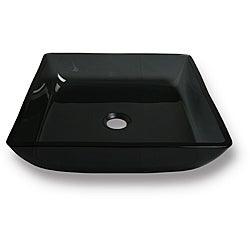 Flotera Merle Tempered Glass Vessel Bathroom Sink