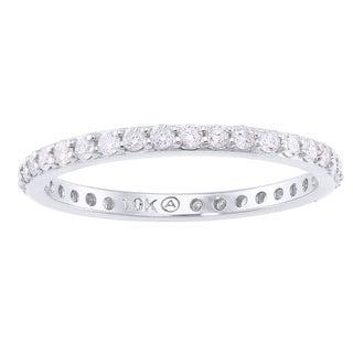 Beverly Hills Charm 10k Gold 1/2ct TDW Diamond Wedding Band (H-I, I2-I3)