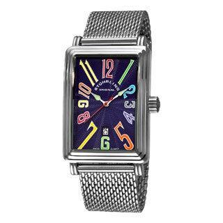 Stuhrling Original Men's Blue 'Uptown Ozzie Genteel' Watch