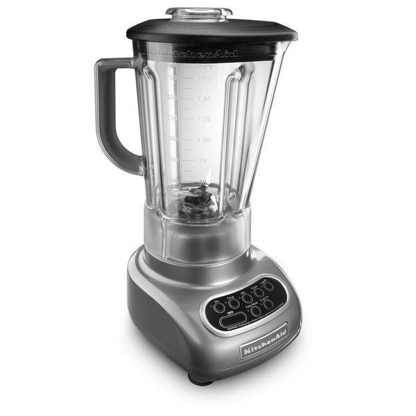 KitchenAid RKSB560CU Contour Silver 5-Speed Artisan Blender (Refurbished)