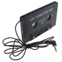 INSTEN Universal Car Audio Cassette Adapter for Apple iPhone 4/ 4S/5/ 5S/ 6