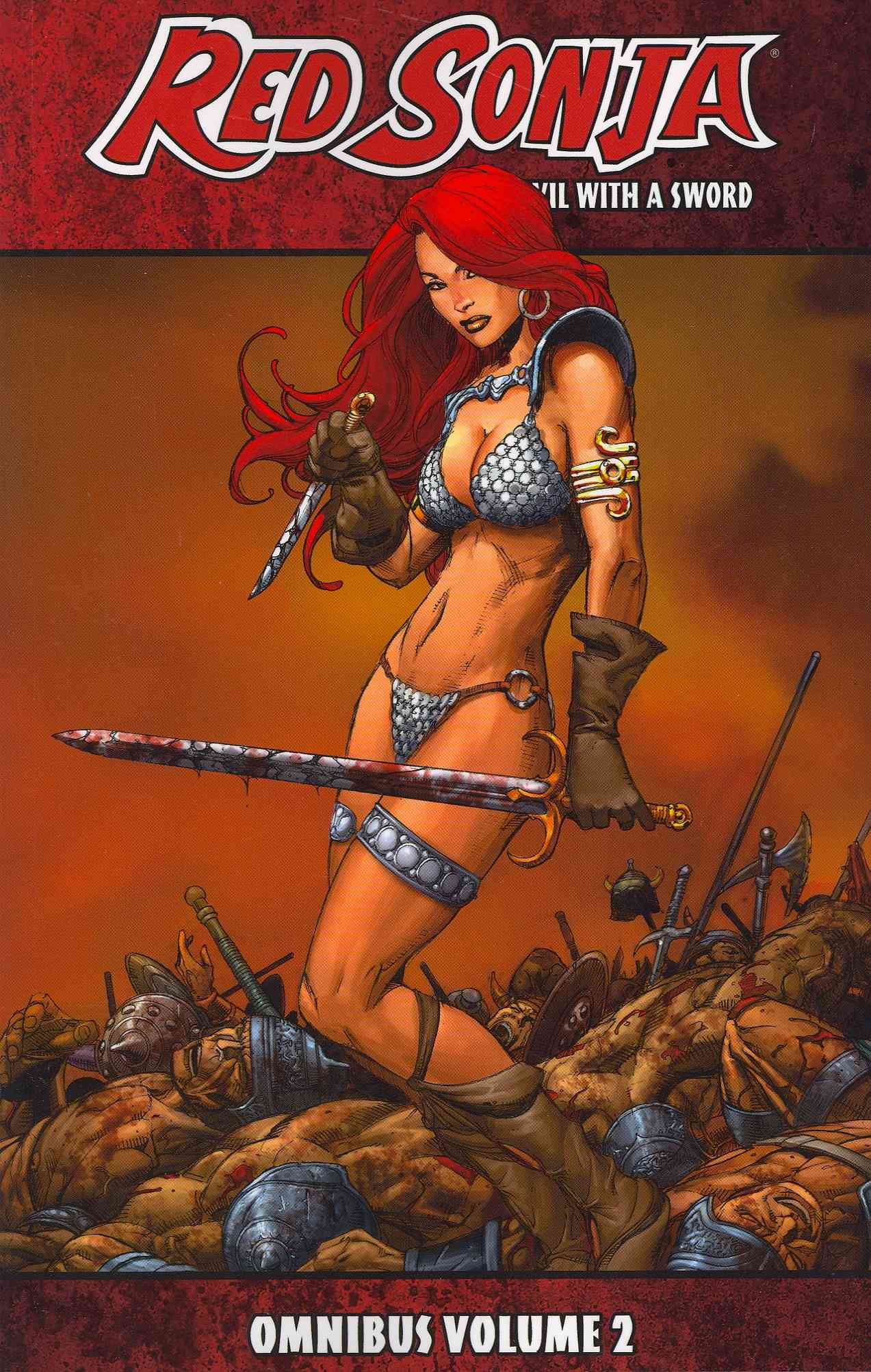 Red Sonja Omnibus 2: She-devil With a Sword (Paperback)