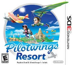Nintendo 3DS - Pilotwings Resort - By Nintendo
