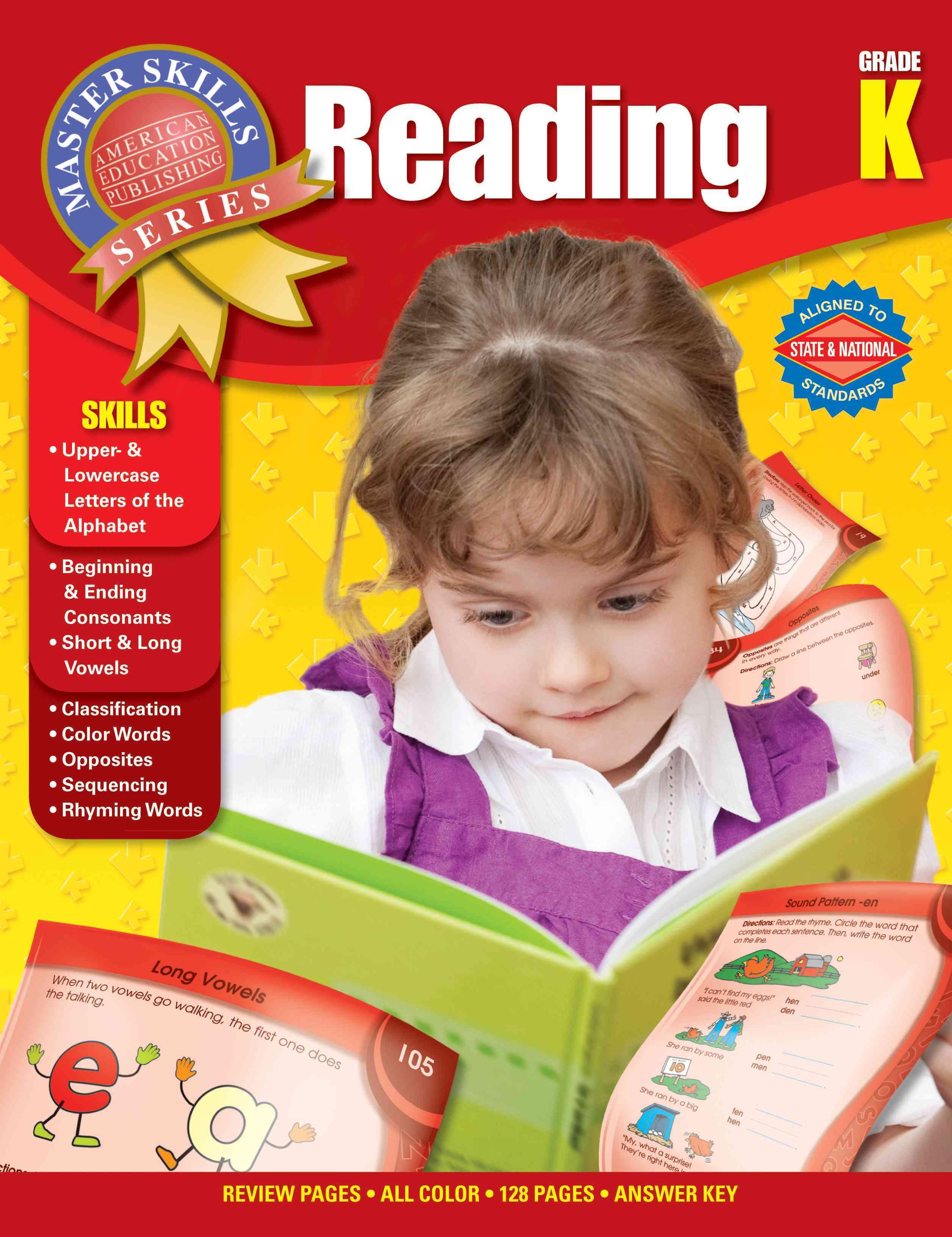 Reading, Grade K (Paperback)