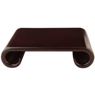 Rosewood 7-inch Scroll Stand (China)