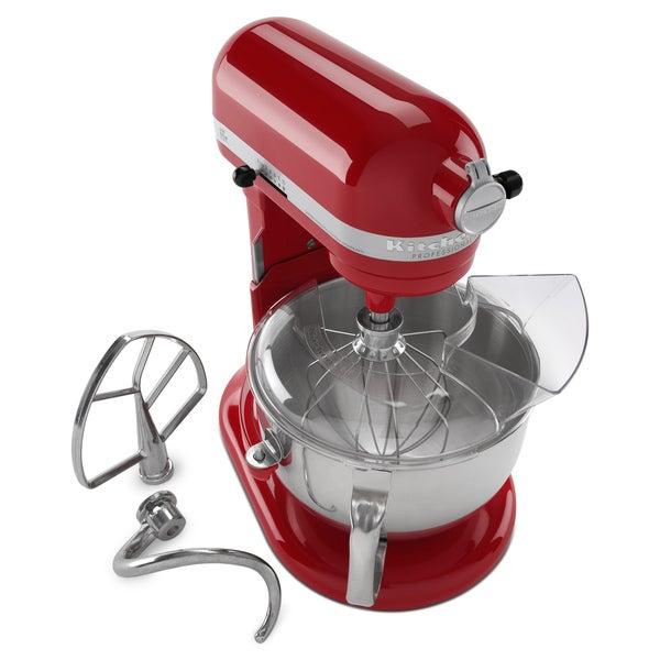 KitchenAid RKP26M1XER Empire Red 6-quart Pro 600 Bowl-Lift Stand Mixer (Refurbished)