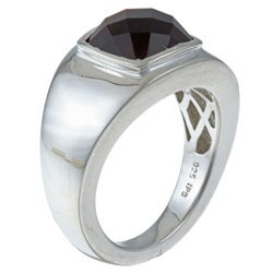 Gems For You Sterling Silver Men's Tiger's Eye Ring