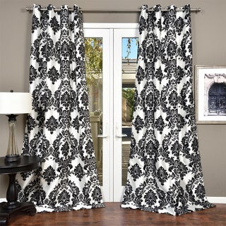 Venetian Faux Silk Grommet Top Curtain Panel