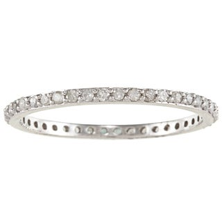 Beverly Hills Charm Classic 10K-Gold 1/3ct TDW Diamond Wedding Band (H-I, I2-I3)