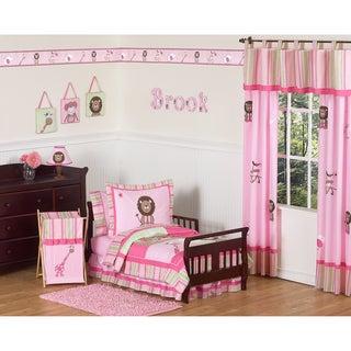 Sweet JoJo Designs Jungle Friends 5-piece Toddler Bedding Set