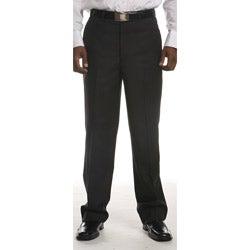 Ferrecci Men's Flat-front Black Stripe Pants