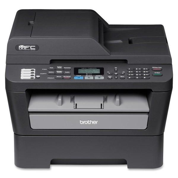 Brother MFC-7460DN Laser Multifunction Printer - Monochrome - Plain P