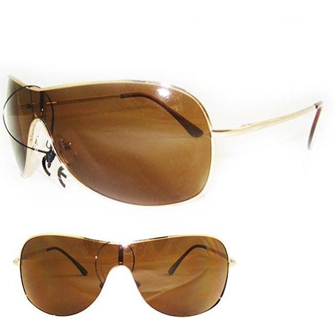SWG Women's 5192 Gold Aviator Sunglasses