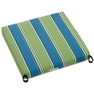 Blazing Needles Patterned All-weather Outdoor Rocker Chair Cushion