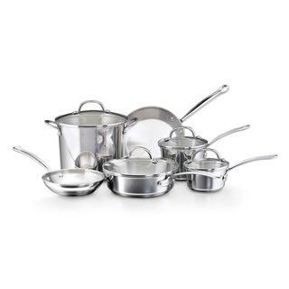 Farberware Millennium Tulip Shaped Stainless Steel 10-piece Cookware Set