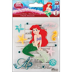 Disney Dimensional The Little Mermaid Sticker Sheet