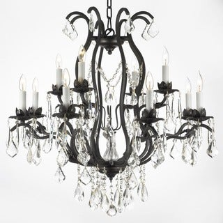 Gallery Regent Iron 12-light Chandelier