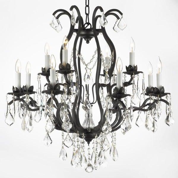 Gallery Regent Iron 12-light Chandelier