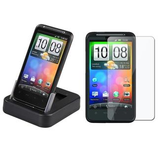 Multi-function Cradle/ Screen for HTC Desire HD Ace Inspire 4G