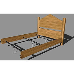 Mantua Steel Rail Bedframe Support System