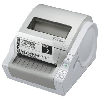 Brother TD4000 Direct Thermal Printer - Monochrome - Desktop - Label