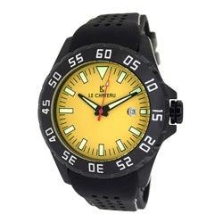 Le Chateau Men's Dynamo Exhibiton Case Black Automatic Watch