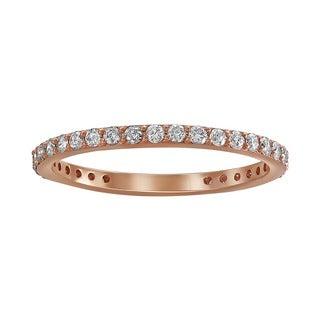 Beverly Hills Charm 14k Rose Gold 1/2ct TDW Diamond Band (H-I, I2-I3)