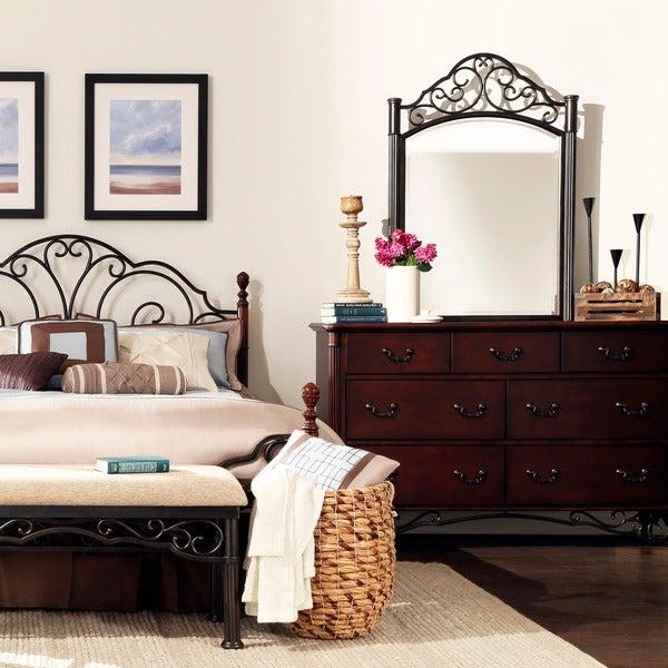 LeAnn Cherry Dresser and Mirror