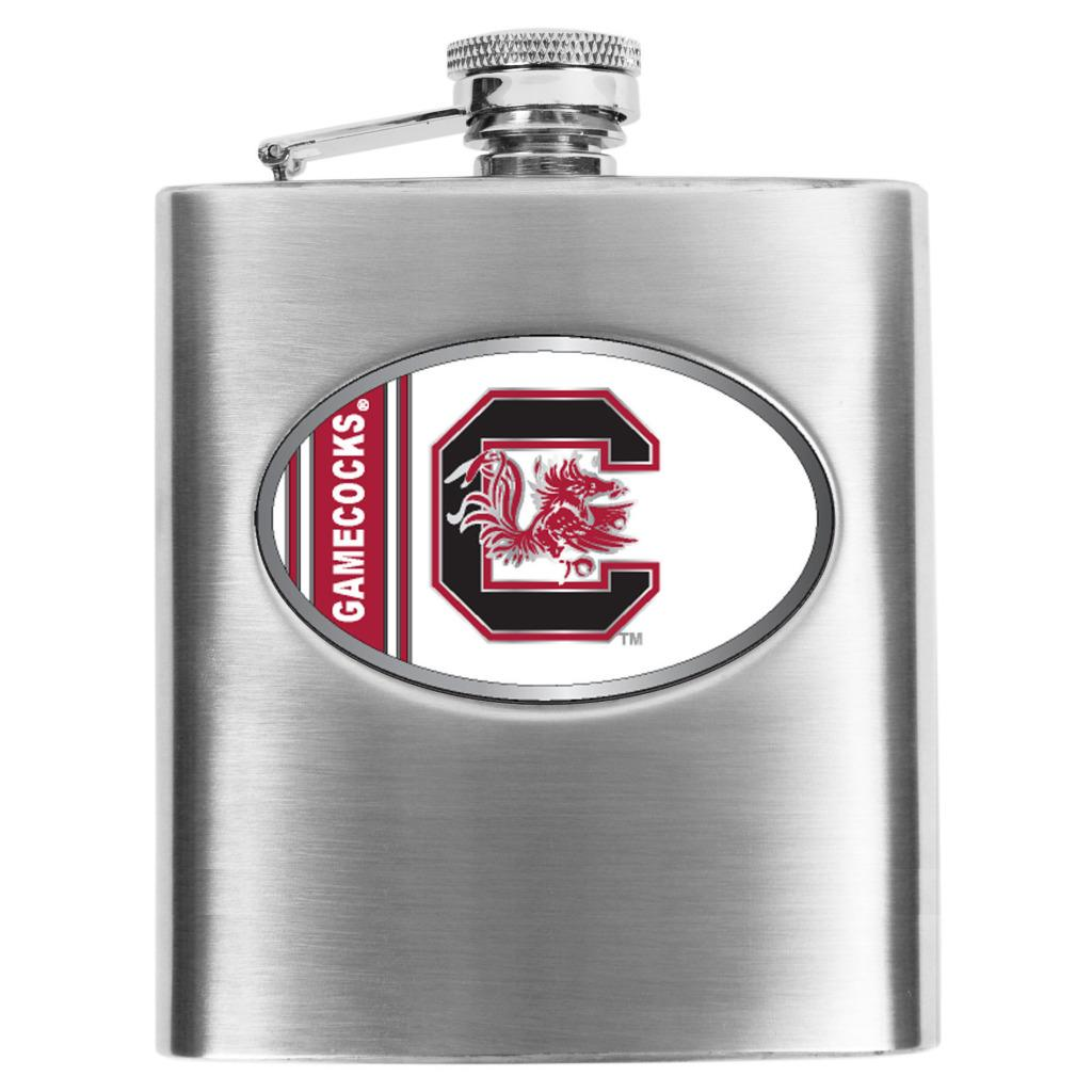 Simran South Carolina Gamecocks 8-oz Stainless Steel Hip Flask