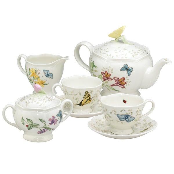 Lenox Butterfly Meadow Tea Set